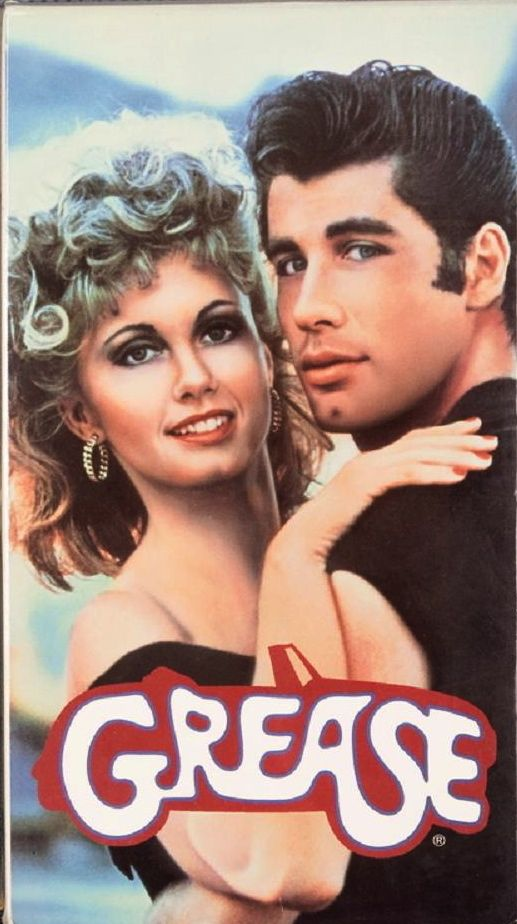 Grease | 35 VHS Movies Every Kid Watched Growing Up