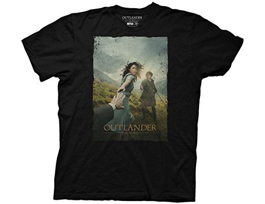 Sixtion Outlander Poster Photo Adult T-Shirt XXX-Large