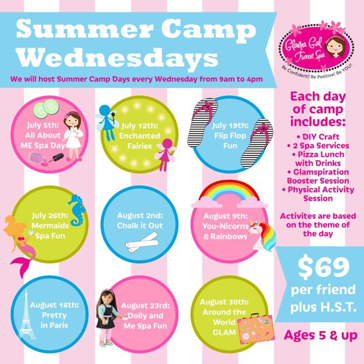 Glama Gals Summer Camp Wednesdays