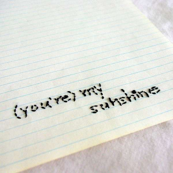 Vintage Writing Paper by DearDesire Adds Texture to Lined Paper