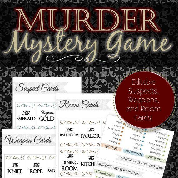 Best Murder Mystery Dinner Free: Pin On Activities