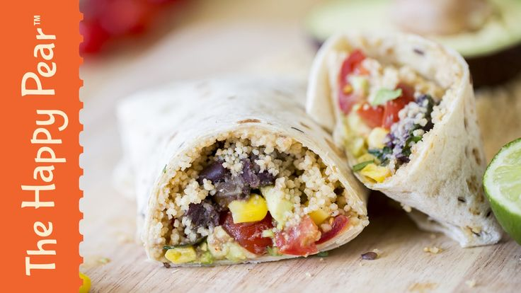 How to make a Healthy Burrito - The Happy Pear Recipe