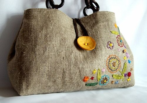 Etsy embroidered bag