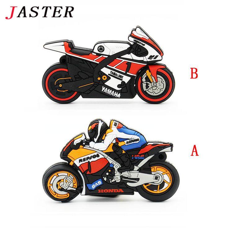 JASTER motorcycle pen drive gift pendrive 4gb 8gb 16gb 32gb 64gb motorcar cartoon usb flash drive pendrive motorbike //Price: $9.95      #sale