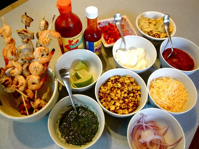 Taco Dinner Party Ideas Part - 18: Rachaelu0027s Dinner Table: Taco Bar! #Taco #Tacos #Mexican #Food