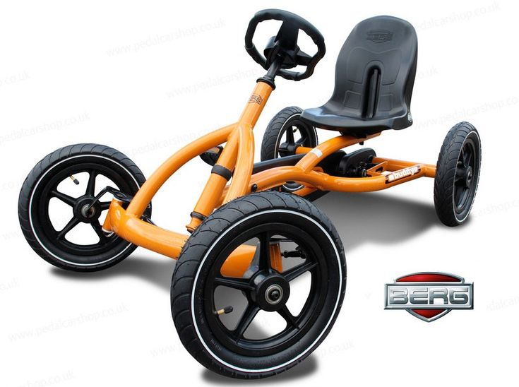 The Berg Buddy go-kart for kids aged 3 to 8 years.