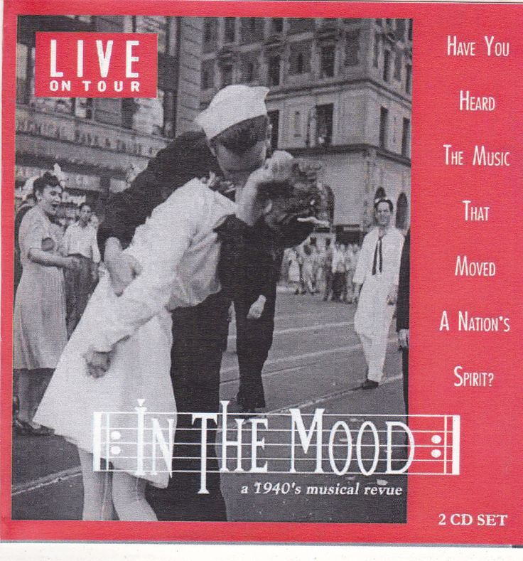 In The Mood / Live On Tour / 1940's Musical Revue / 2 CD Set / Bud Forrest RARE