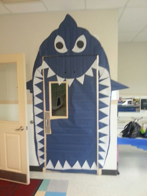 Shark Door Pirate Theme Classroom School Door