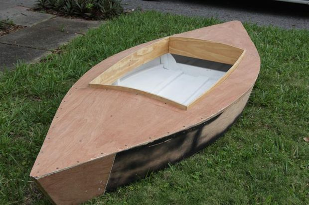 "Building a ""Pintail"" Duckboat Pt 1 