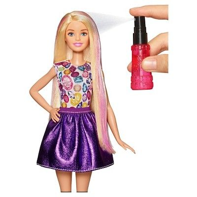 Barbie D.I.Y. Crimps and Curls Doll - Blonde