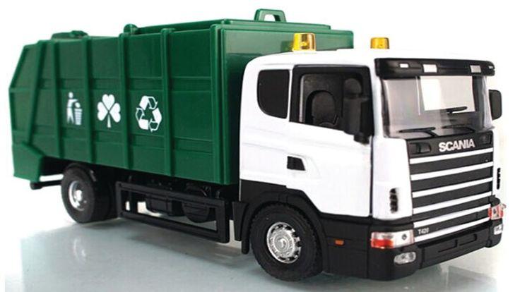 Camiones de basura para niños en español ✓ Carritos para niños: Retroexc...