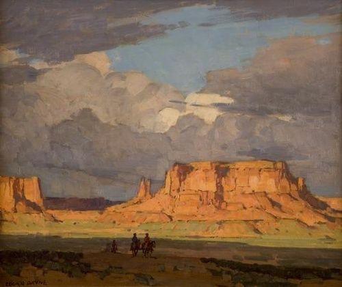 Edgar Payne  Red Mesa, Monument Valley