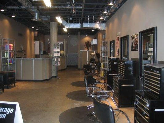 hair styling salons garage hair salon ideas 5 salon design 6661