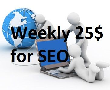 I will work for your website marketing weekly only for 25$ buy it now and contact me Thanks... on #PeoplePerHour