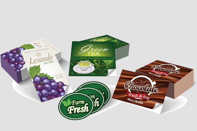 #Labels are #printed on the front side of adhesive-backed stock. Please note that this product is not recommended for outdoor applications, as they are not printed on weatherproof material.
