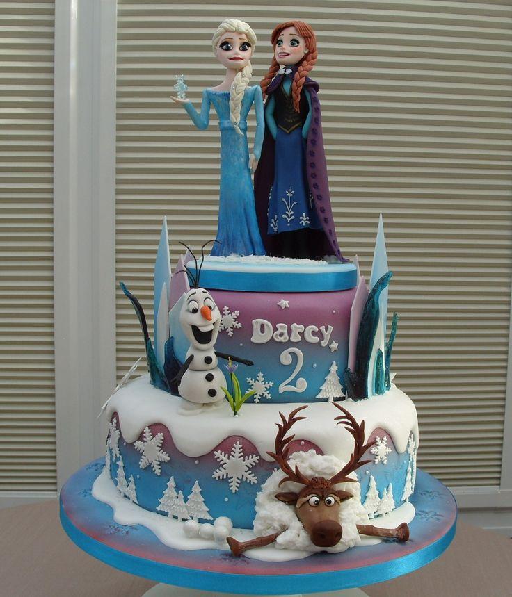 182 Best Frozen Cakes Images On Pinterest Parties Cakes