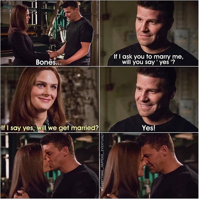 bones booth and cam relationship