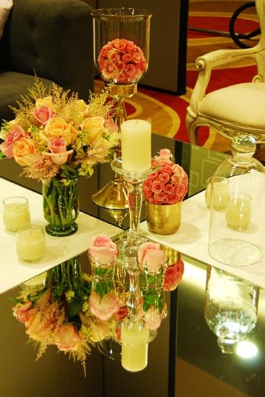 eventos 15 Años diseño y decoración centro de mesa www.adrianasatizabal.com