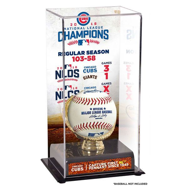 Chicago Cubs Fanatics Authentic 2016 MLB National League Champions Sublimated Display Case with Image - $49.99