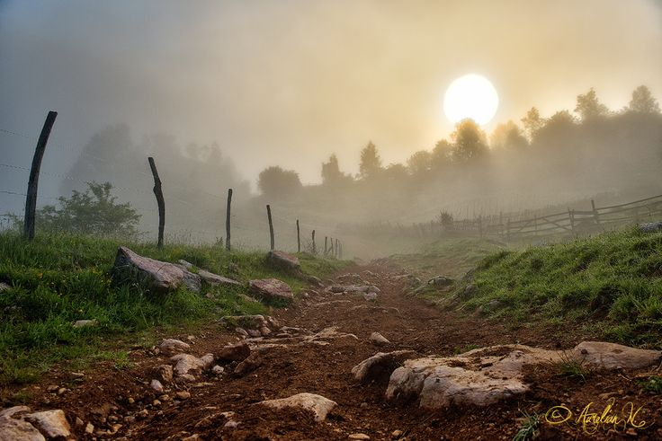 Natural sunrise by Aurelian Nedelcu on 500px