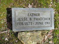 Jesse Butterworth Thatcher 1873 - 1911 Gravestone