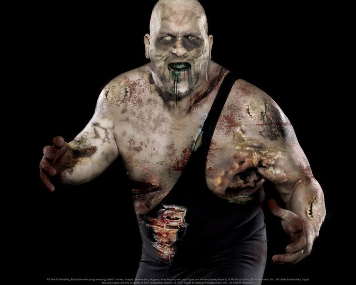 I'm definitely a fan of WWE's Mortuary section.  I really wish I can edit pictures like this.    Introducing the Big Slow Zombie!