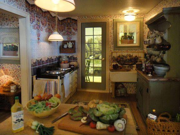 1401 best Miniature Cottages images on Pinterest Miniature