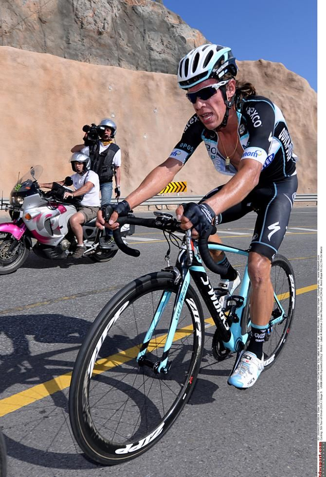 Rigoberto Uran (Omega Pharma-Quickstep) in Tour of Oman