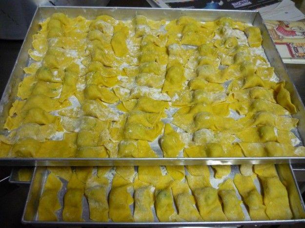 Caramelle di patate e verze