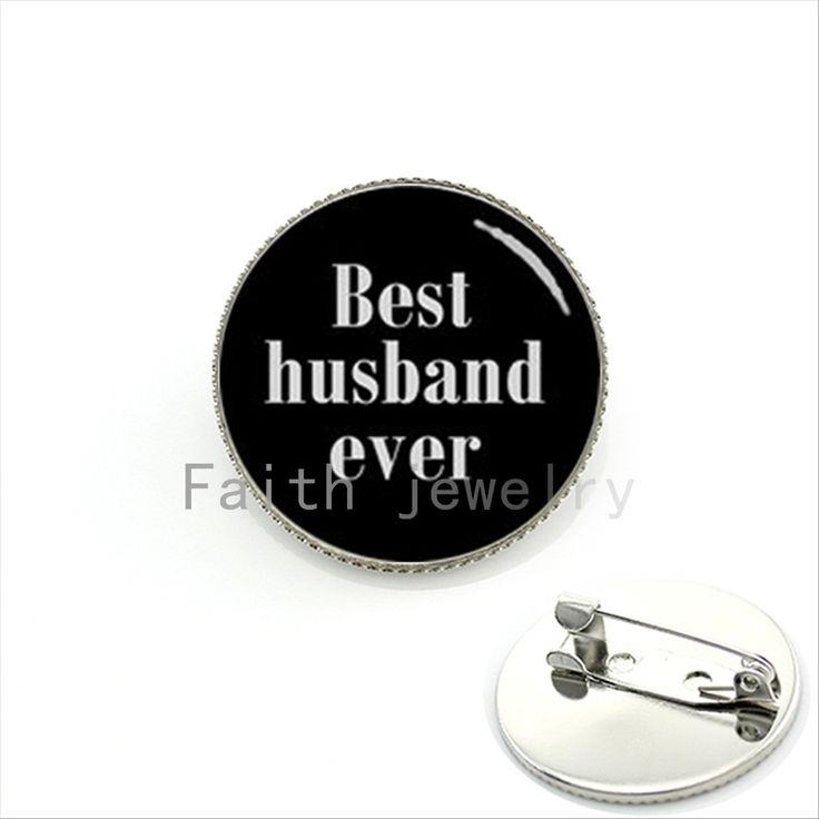 Изысканные романтические текстовые bijoux броши, ювелирные изделия Лучший муж когда-нибудь Первокурсника свадебные ювелирные пальцы для жениха подарки KC531