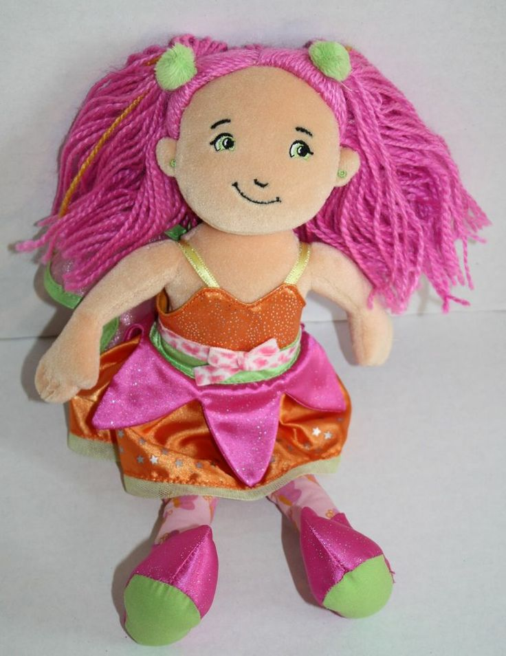 "Groovy Girls Doll 2007 Fayla Fairy Green Eyes Manhattan Toy 12"" Stuffed plush #ManhattanToy"