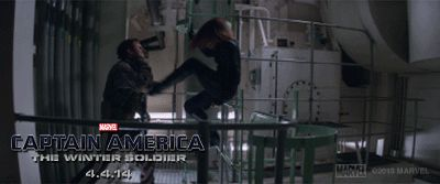 Check out this GIF from Marvel's Captain America: The Winter Soldier. See the movie in theaters 4.4.14.