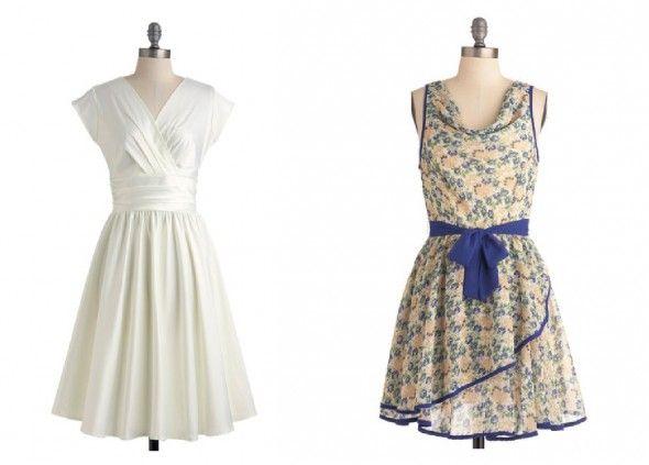 Retro Style Bridesmaid Dresses For A Vintage Wedding