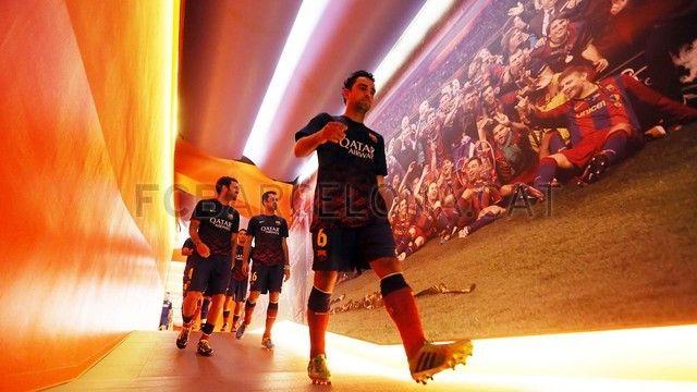 FC Barcelona | Xavi Hernández en el Barca - Levante. FOTO: MIGUEL RUIZ - FCB
