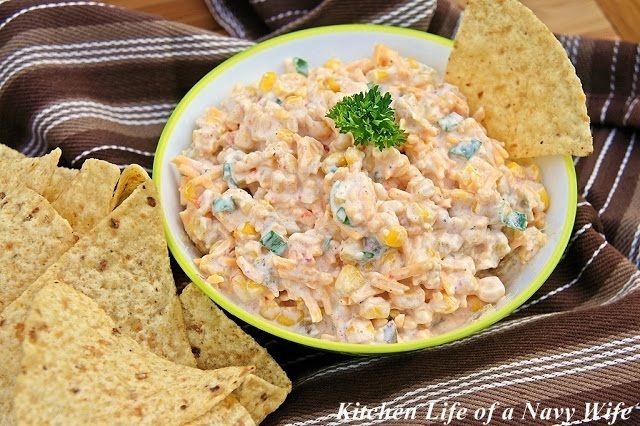 Spice up your next party, and serve Cowboy Corn Dip with corn or tortilla chips. It's a creamy, crunchy veggie dip recipe straight out of the west that's specifically meant to be made for a large crowd.