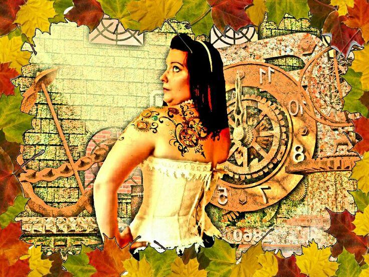 Fall steampunk tattoos