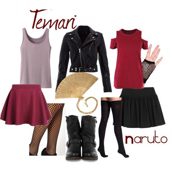 naruto inspired clothes | Found on polyvore.com