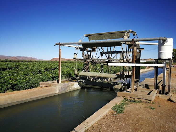 Water wheel at Kakemas