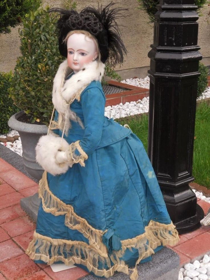 ~~~ Attic Condition Large French Bisque Portrait Poupee by Jumeau ~~~ from whendreamscometrue on Ruby Lane