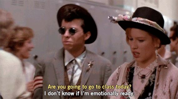 "Movies of the 80's - Sometimes awesome people might ""live to like you,"" and you might not feel the same way. That's OK. (Pretty in Pink)"