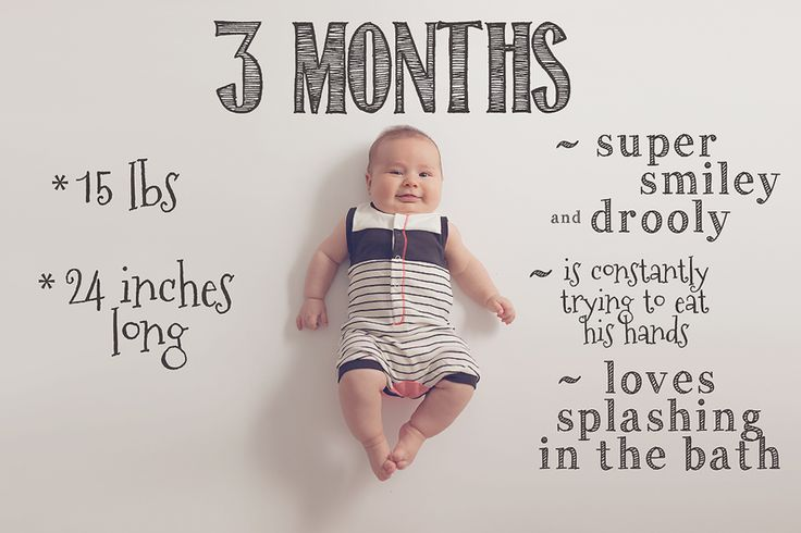 baby month by month