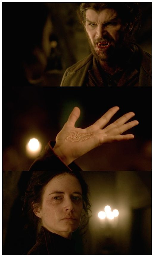 """""""Penny Dreadful"""" - Ethan & Vanessa. The Wolf & the Scorpion."""