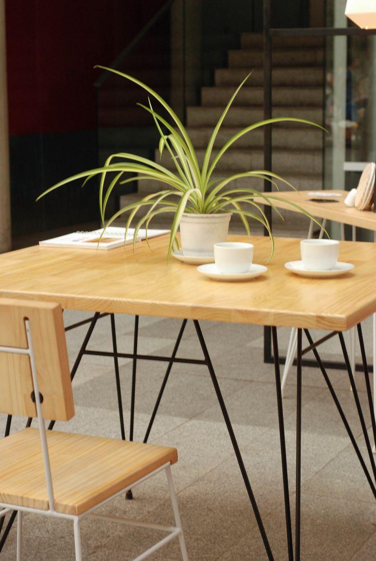 Mesa de comedor MESTIZA www.plazalaplaza.com