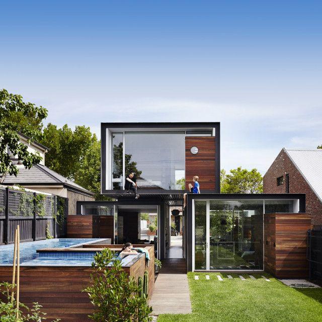 Modernist Melbourne home blurs lines between inside and out - The Interiors Addict