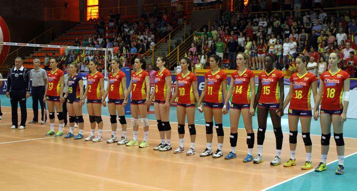 Liga Europea 2014 - España-Grecia