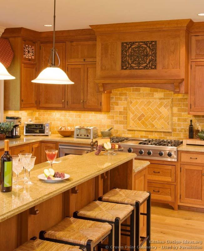 Pictures Of Kitchens   Traditional   Light Wood Kitchen Cabinets (Kitchen Part 40