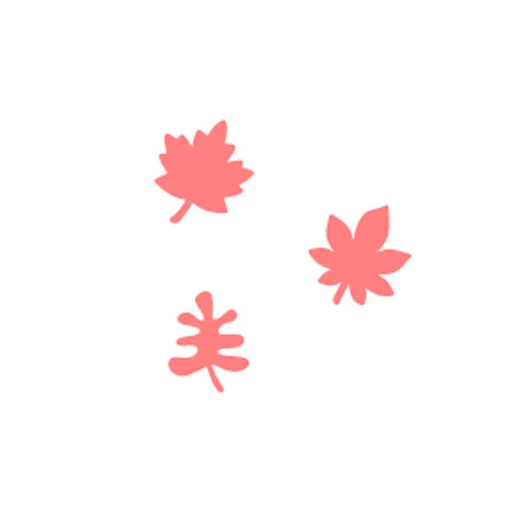 """Our Fall Leaves Oreo Stencils come as a set of 3. Perfect for decorating chocolate covered Oreos, macarons, cupcakes, and more! Made on a 5.5"""" x 5.5"""" template that works with the Stencil Genie. Food Safe."""