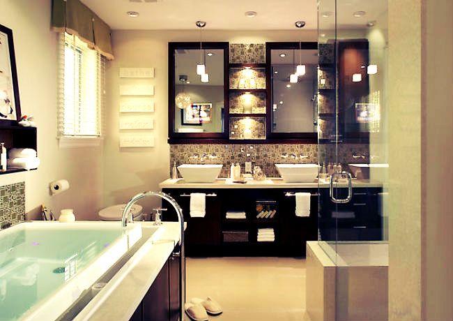 small modern bathrooms