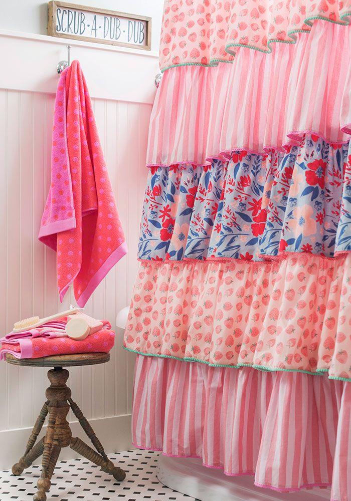 Squeaky Clean Bath Curtain Matilda Jane Clothing Cowgirl