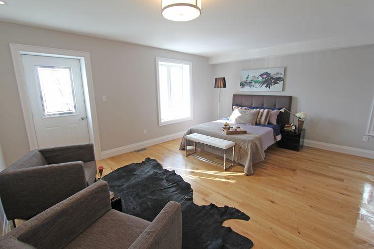 For sale, 563 St Clarens Ave, Toronto, real estate, Bloordale Village, 3 bedroom, 4 bathroom, home, cedar, brick, master bedroom, walkout to balcony